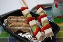 Fruity Chicken Kebabs