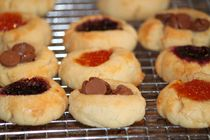 Aunt Jenny's Thumbprint Butter Cookies
