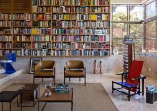 Braziliyada 5 minlik özəl kitab kolleksiyasına sahib villa