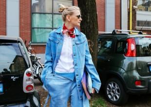 KÜÇƏ DƏBİ: Milanda keçirilən moda həftəsində küçə dəbi