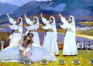 Bahar bayramı! Milli rəssamlarımızın Novruz tabloları.