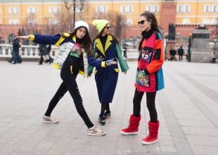 KÜÇƏ DƏBİ: Moskvada keçirilən Mercedes-Benz moda həftəsi