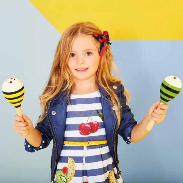 MONNALISA-Blue-Stripy-Dress-with-Tropical-Fruits-Print-p-e1454409955534
