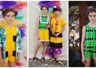 """EFVVA uşaq geyim brendinin """"Fiesta"""" kolleksiyasında Meksika xalq sənətkarlığı əks olundu"""