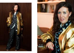 L'OFFİCİEL jurnalının Ukrayna redaktoru ANA VARAVA Azerbaijan Fashion Week çərçivəsində Bakıya səfər etdi
