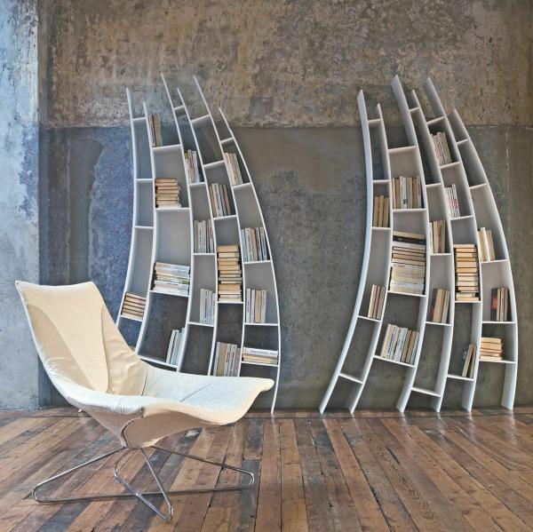 modern-arched-bookshelves