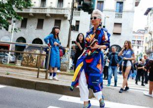 KÜÇƏ DƏBİ: Milanda keçirilən kişi moda həftəsində küçə dəbi