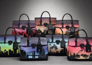 7 şəhər 7 çanta. VERSACE məhdud çanta kolleksiyası.