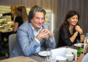 Mikele Markon Bakıda! IDEA mebel salonunda dizaynerin master-klassı keçirildi.