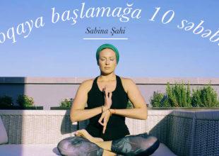 Sabina Şahidən yoqaya başlamağa 10 səbəb!