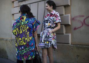 KÜÇƏ DƏBİ: Milan Moda Həftəsi