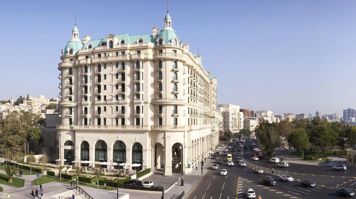 Azərbaycanda ilk dəfə! Four Seasons Hotel Baku CONDÉ NAST TRAVELER'S 2016 qalibi oldu.