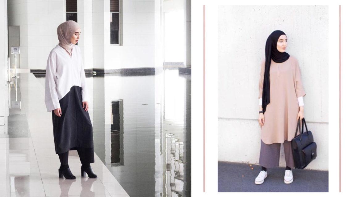 Instagramın məşhur hicab bloqeri İman Əsri minimalizmi özünə tərz seçir.