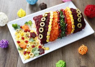 Fişəng Salatı. Yeni il süfrənizin bayram havası.