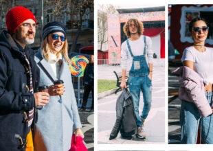 Baku Street Fashion: Yeni ildə Bakının mərkəzində Küçə Dəbi