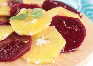 Dolce Gram Bloqu | Mərakeş Sayağı Portağallı Qırmızı Çuğundur Salatı