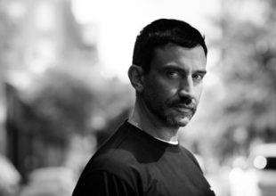 Riccardo Tisci, the Givenchy creative director, in New York, Sept. 14, 2015. Over the last decade, Tisci has slowly become the most socially connected fashion designer of his generation, a man whose tentacles extend from Oscar contenders to reality show participants. (Chad Batka/The New York Times)