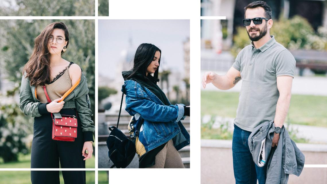Baku Street Fashion: Qış Parkında Küçə Dəbi