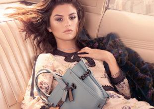 """Selena """"COACH""""-un reklam siması oldu. Avtomobil səyahəti konseptli kampaniya."""