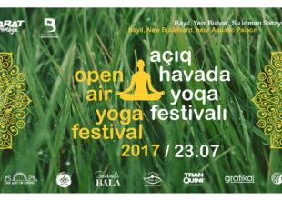 YARAT yoga festivalı təşkil edir. Yoqa döşəkçəni götür və gəl!