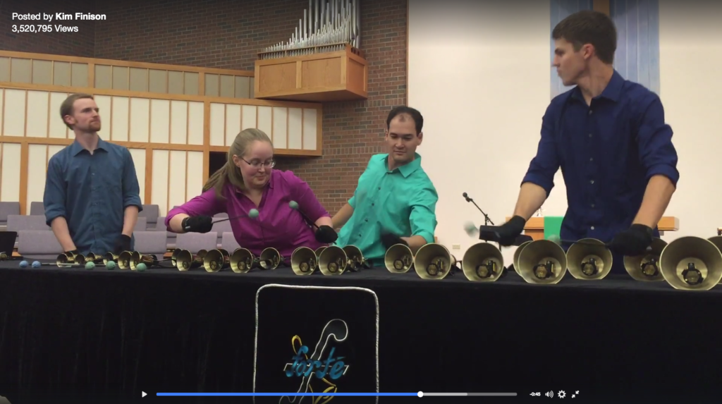 Khachaturian's Sabre's are Replaced by Handbells in this Fun Rendition featured image