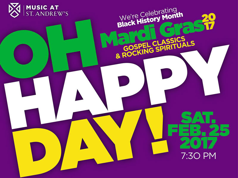 Oh Happy Day! Celebrating Mardi Gras & Black History Month featured image