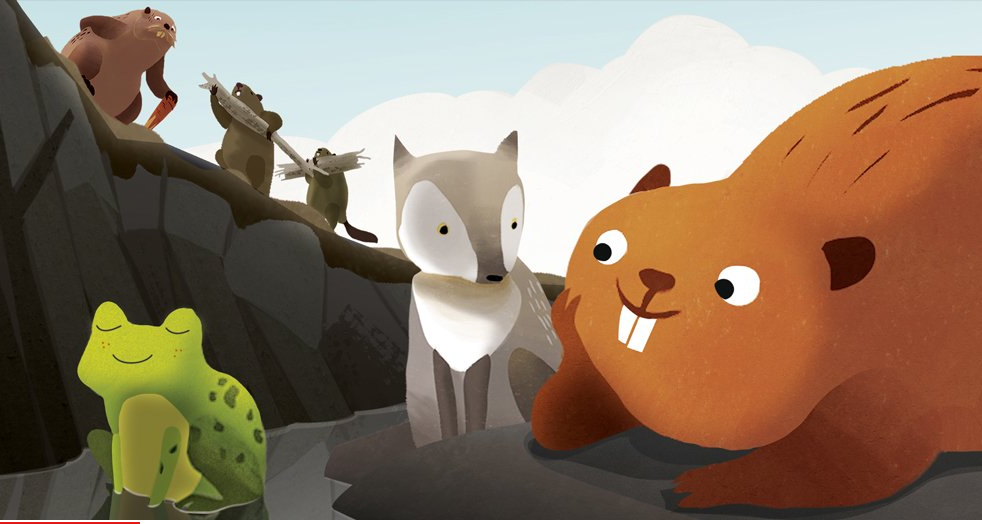 TSO meets Animation with DAM! The Story of Kit the Beaver featured image