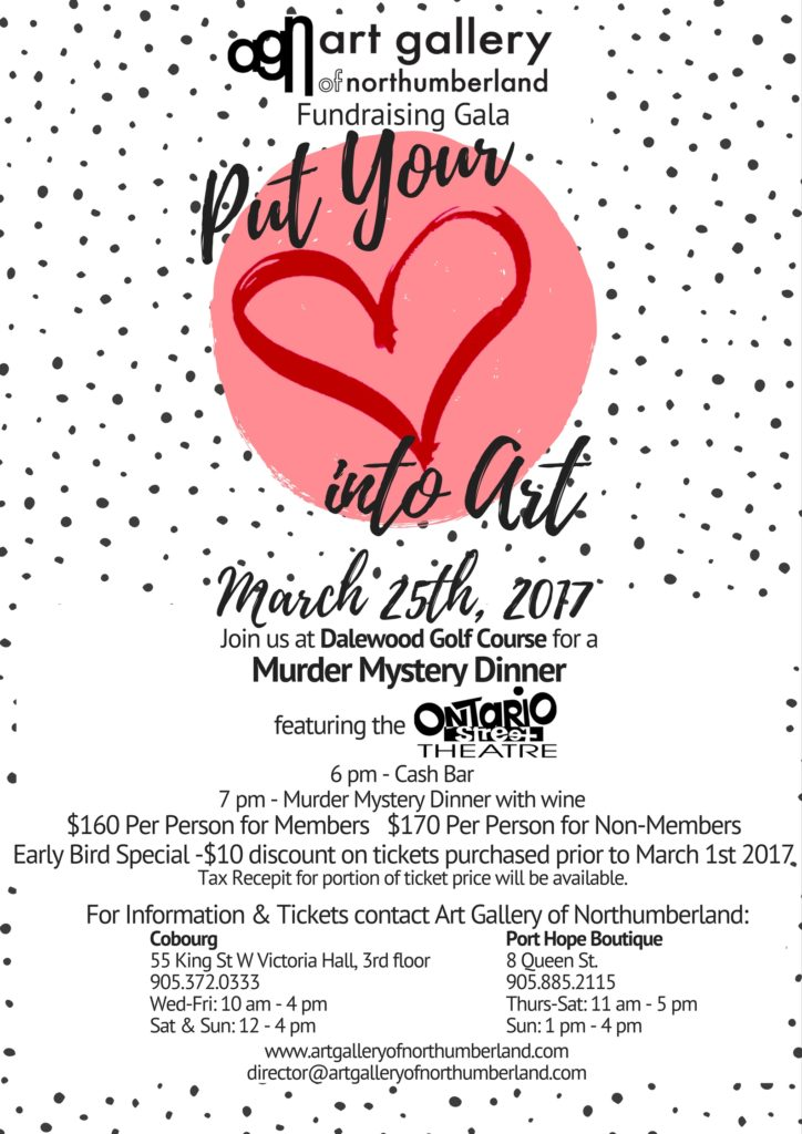 The Art Gallery Of Northumberland Is Having A Murder Mystery Fundraising Gala featured image