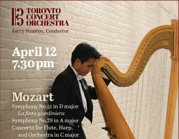 Toronto Concert Orchestra presents Mozart & Baker featured image