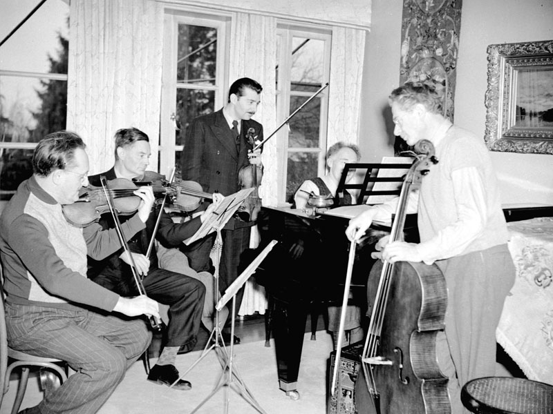 On this Day in 1946 the Hart House String Quartet Performed their Final Concert