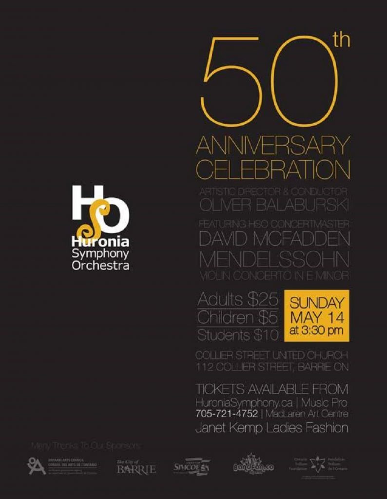 The Huronia Symphony Is Celebrating 50 Years Of Fabulous Music featured image