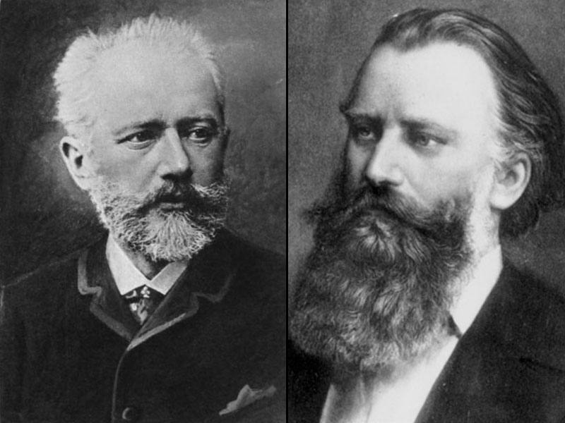 TWIN BIRTHDAY BOYS, Peter Tchaikovsky and Johannes Brahms… featured image