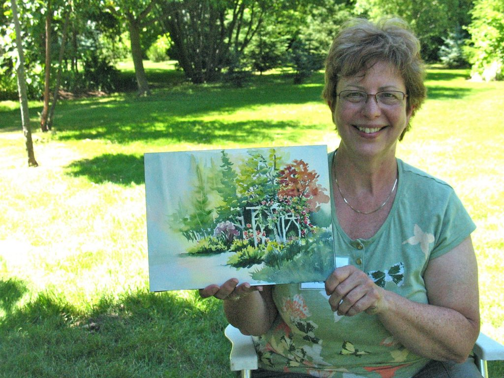 Come Paint With The Blue Mountain School Of Landscape Painting…It's Going To Be Fun
