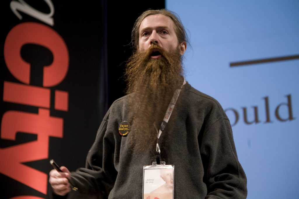 Michael Kramer interviews Aubrey de Grey at ideacity 2017 featured image