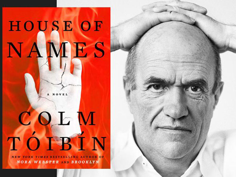 Colm Tóibín talks about his latest novel 'The House of Names' in today's interview featured image