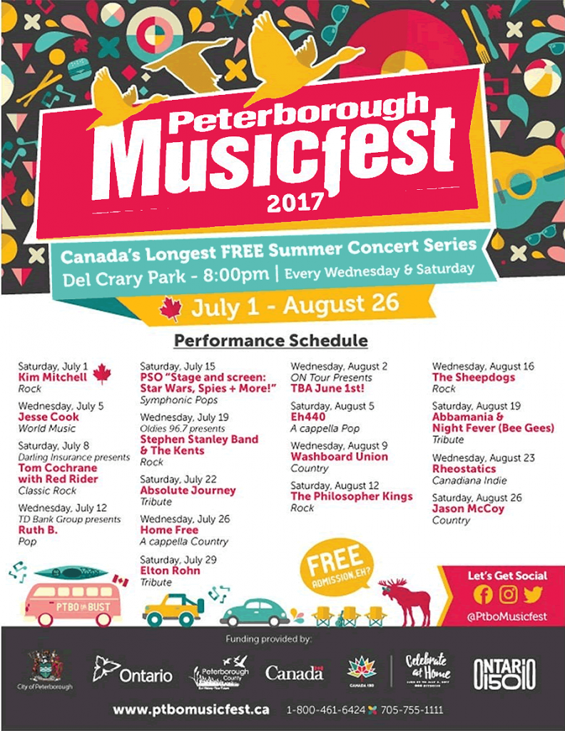 Peterborough Musicfest Is Celebrating 31 Seasons With A Fabulous Musical Lineup featured image