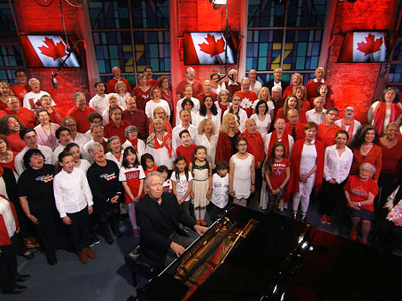 Yiddish Singing of 'O Canada' for Canada's 150th Birthday! featured image