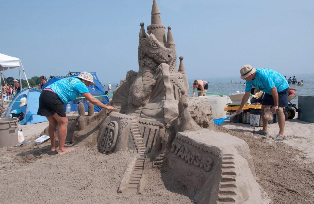 "Talented ""Sand Picasso's"" Getting Set For Cobourg Sandcastle Festival Competitions featured image"