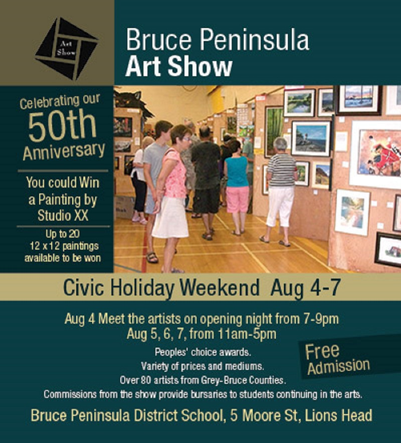 The Bruce Peninsula Art Show Started 50 Years Ago In A High School Gymnasium featured image
