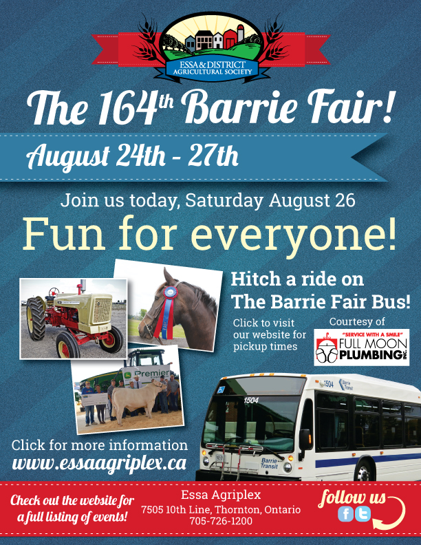 Celebrating Agriculture and Canada 150 At The 164th Barrie Fair featured image
