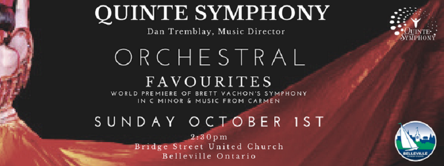 The Quinte Symphony…Their 57th Season Opening Concert Is This Sunday In Belleville featured image