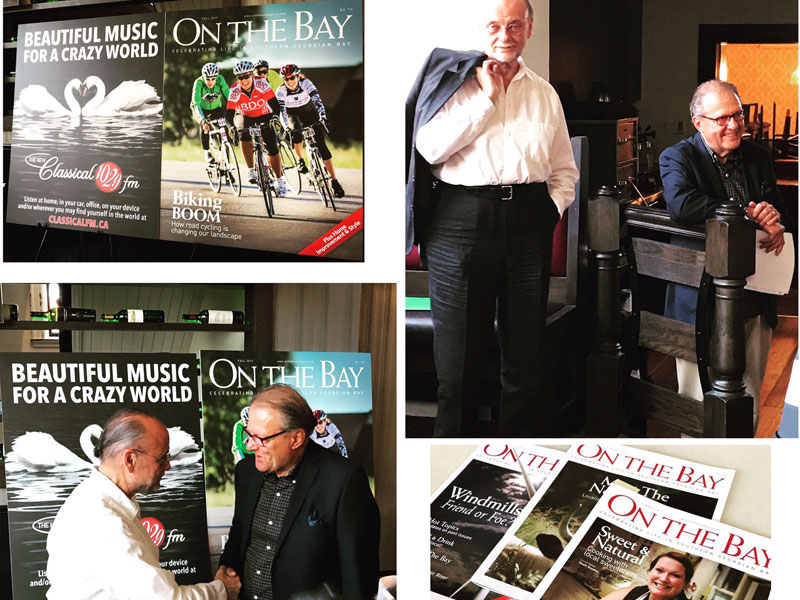 Media in Canada Article Highlights The New Classical 102.9 FM's Merge with On The Bay Magazine featured image