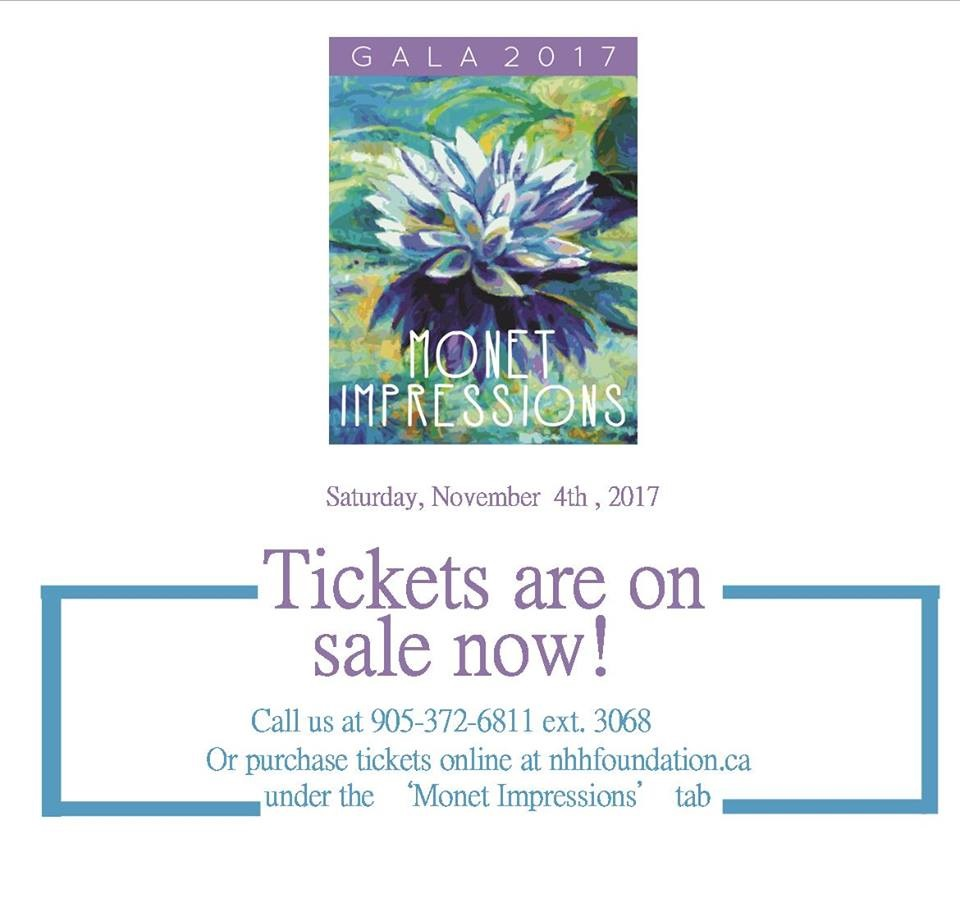 Monet Impressions…Theme For The 2017 NHH Hospital Foundation Gala featured image