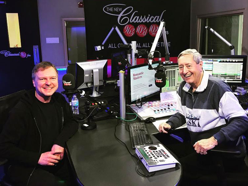 "David Bowser of Pax Christi Chorale chats with Bill Anderson about ""Romantic Masters"" featured image"