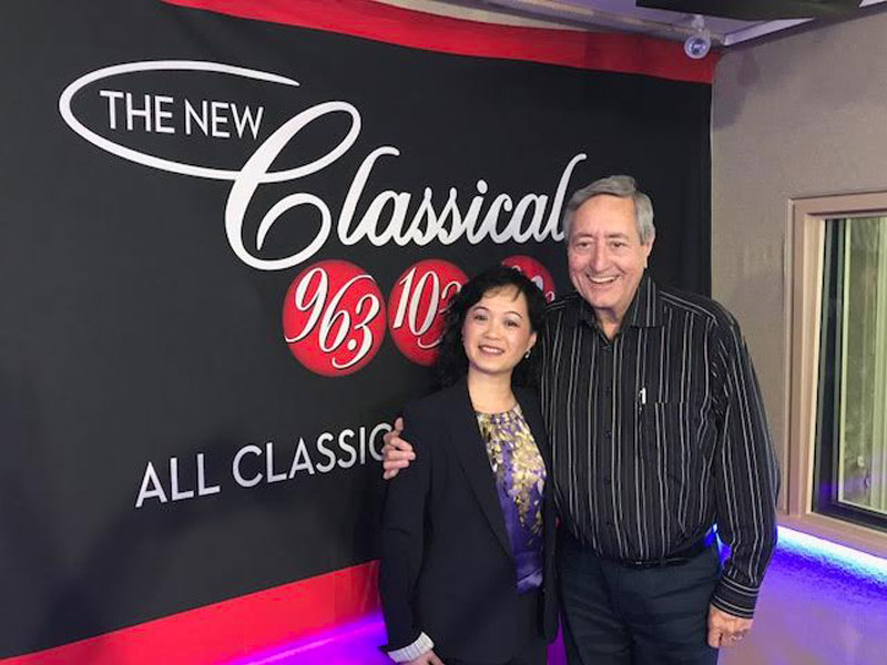 Bill Anderson Talks with 'New Tang Dynasty' TV personality Danielle Zhu featured image