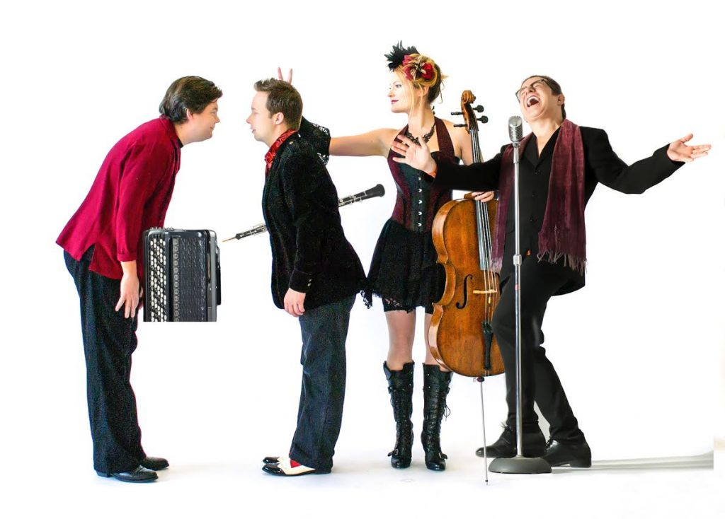 RSVP to Quartetto Gelato Live at Zoomer Hall featured image