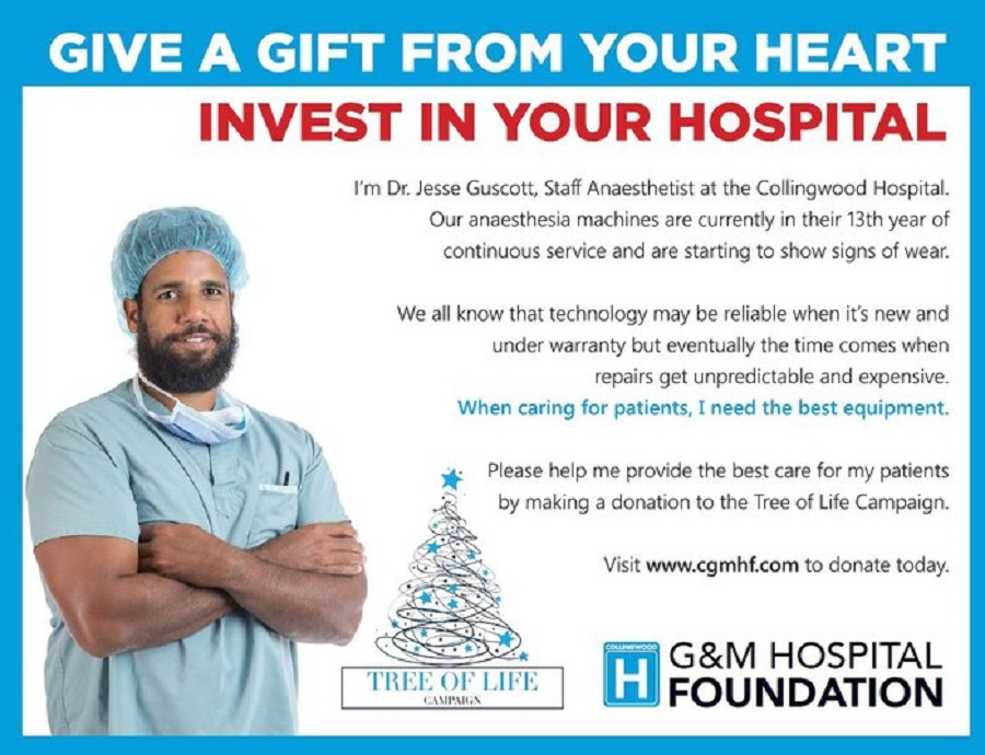 Collingwood General & Marine Hospital Foundation Tree Of Life Campaign…Donations Help Improve Your Care featured image