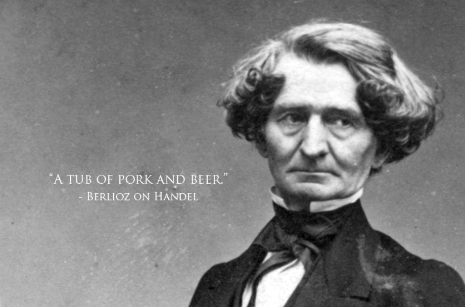 Celebrating the birthday of over-the-top composer Hector Berlioz