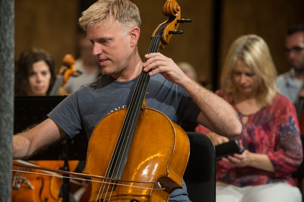 Performers also work extra holiday hours: Joseph Johnson, cellist featured image