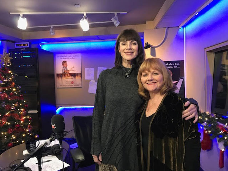 Downton Abbey Actress, Lesley Nicol, Stopped By The New Classical FM! featured image